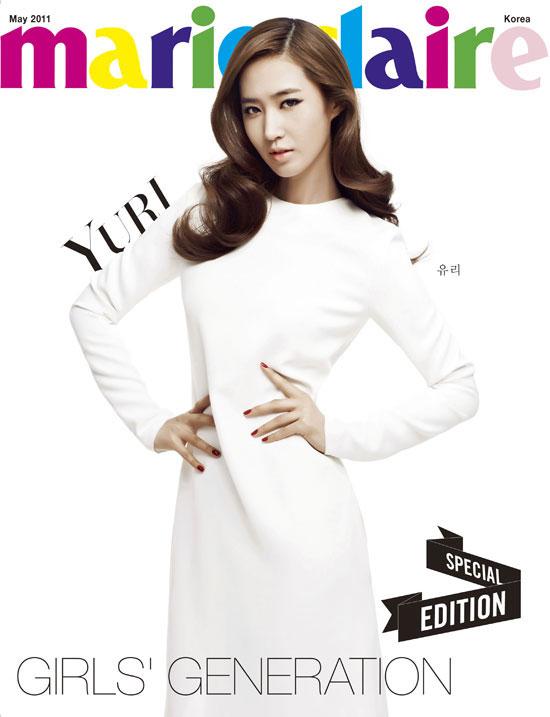 SNSD Yuri Marie Claire Magazine