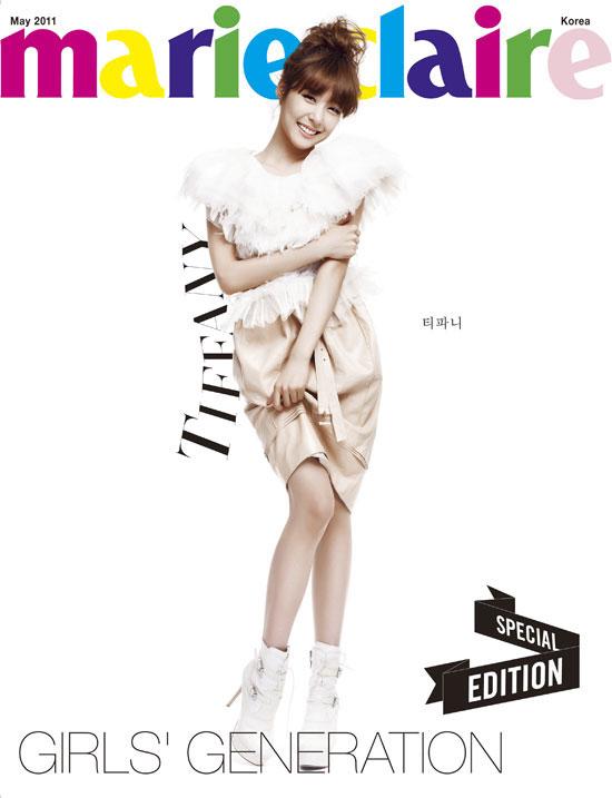 SNSD Tiffany Marie Claire Magazine