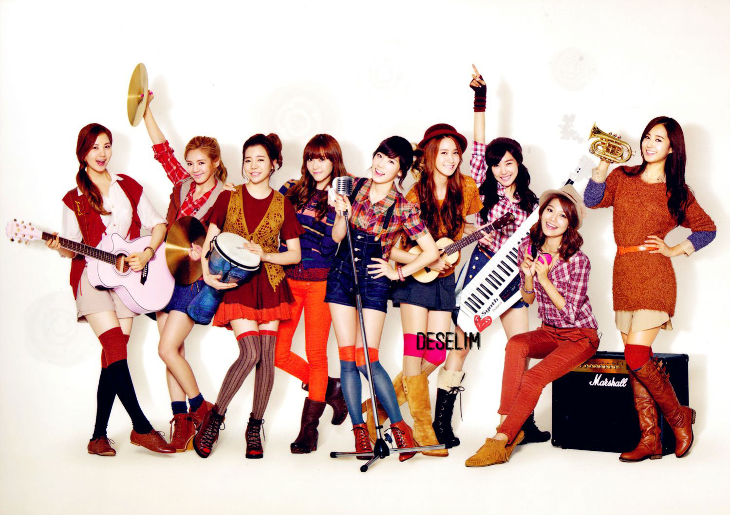 Girls Generation Goobne Chicken scan