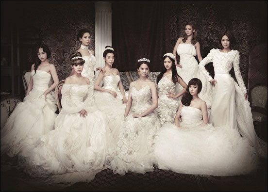 SNSD The Boys princess concept