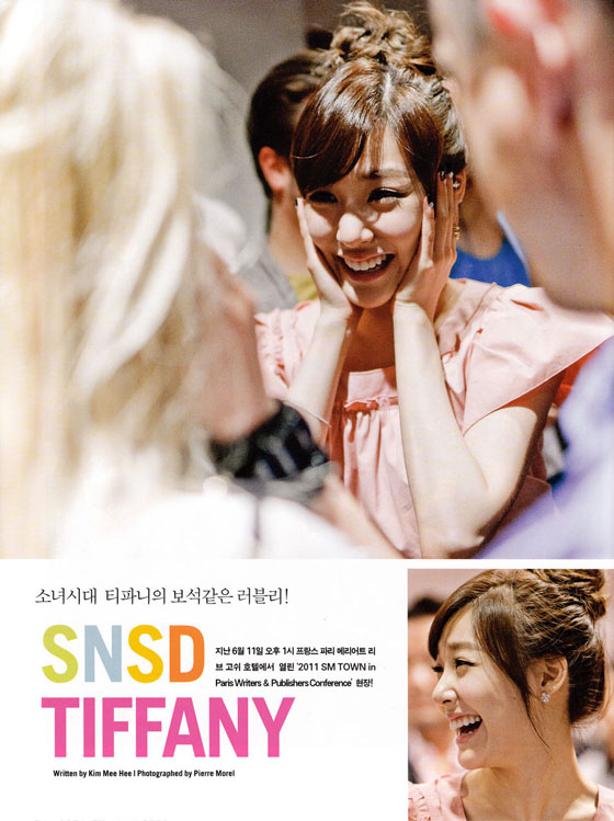 SNSD Tiffany Paris Asta TV Magazine