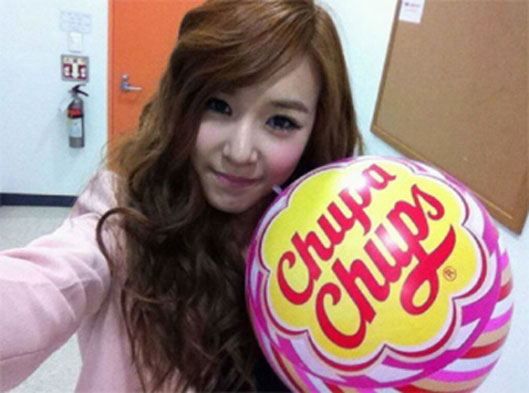 SNSD Tiffany White Day selca