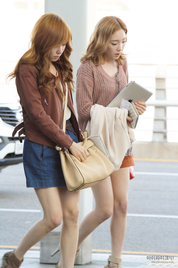 SNSD Taeny Incheon Airport