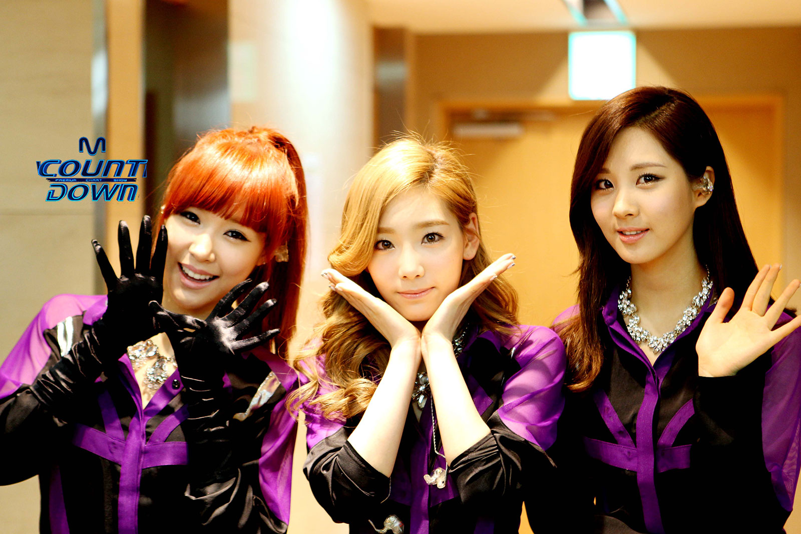 Girls Generation TaeTiSeo Mnet M Countdown
